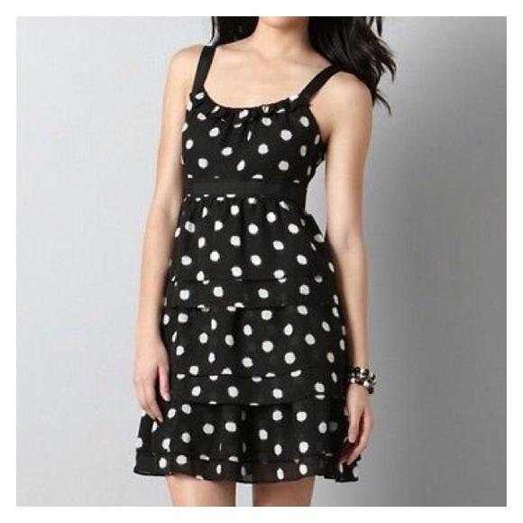 NWT Ann Taylor LOFT Black floral print 3 tier flirty women/'s casual FUN Skirt