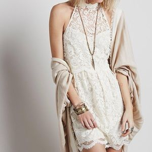 Free People Dresses & Skirts - Free People Lost In A Dream Vintage Ivory Dress