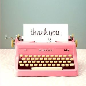 THANK YOU FOR SHOPPING WITH ME!