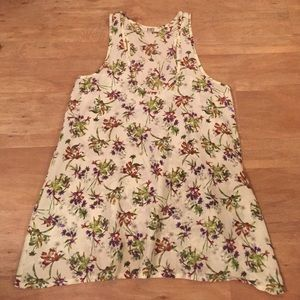 BB Dakota floral racer back tank