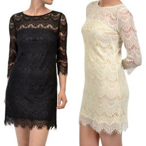 🎉🎉HP🎉🎉‼️SALE‼️Lace Overlay Dress