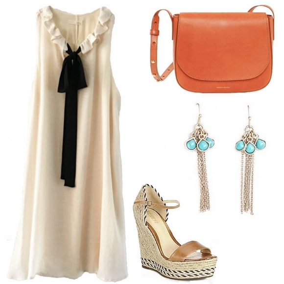 Classic Paper Doll Dresses - ‼️LAST 1-Medium‼️Ribbon Tie Dress