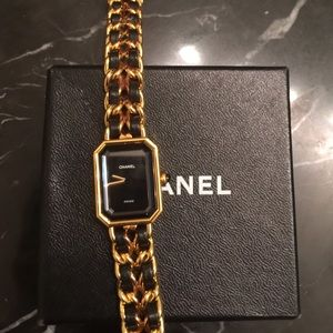 Authentic Chanel Premiere watch