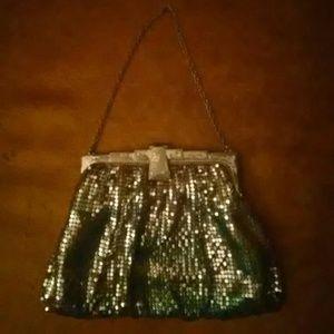 Vintage Davis & Whiting mesh purse