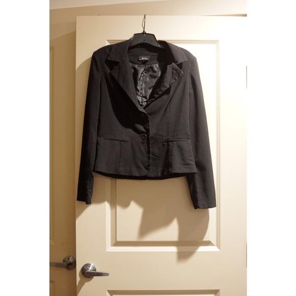 4e4a0af115 jcpenney Jackets   Blazers - Black Fashion Blazer - (XL Junior size)