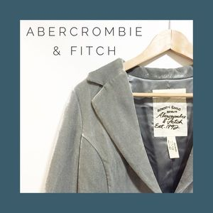 Abercrombie & Fitch Velvet Blazer