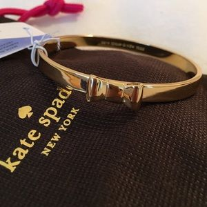 NWTAuthentic Kate Spade bracelet in gold