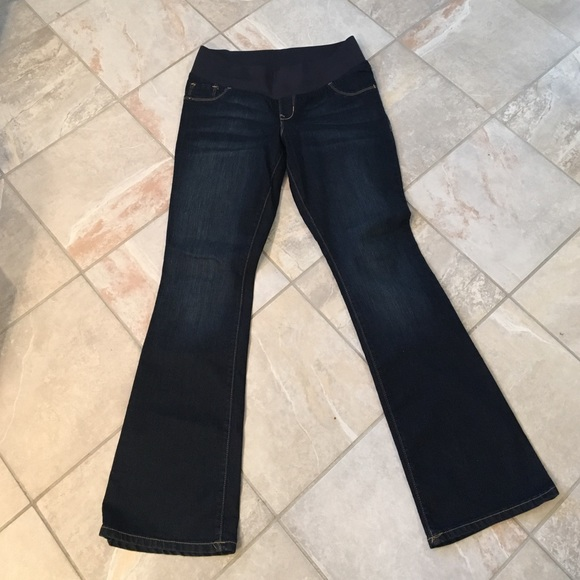 62% off Old Navy Denim - Old Navy Maternity Jeans Low Panel Size 8 ...