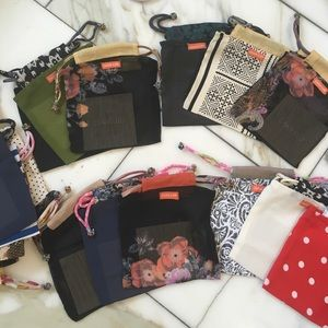 22 Chan Luu small Jewelry bags
