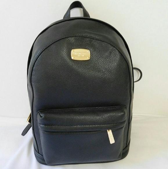 6ca4bd05f2a6 Michael Kors Bags   Large Jet Set Black Leather Backpack   Poshmark