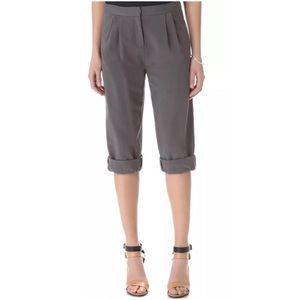 Halston Heritage Pants - HALSTON RELAXED CROP PANTS ~ NWT