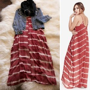 Love Stitch Dresses & Skirts - ‼️LAST ONE‼️Tie Dye Pocket Maxi Dress