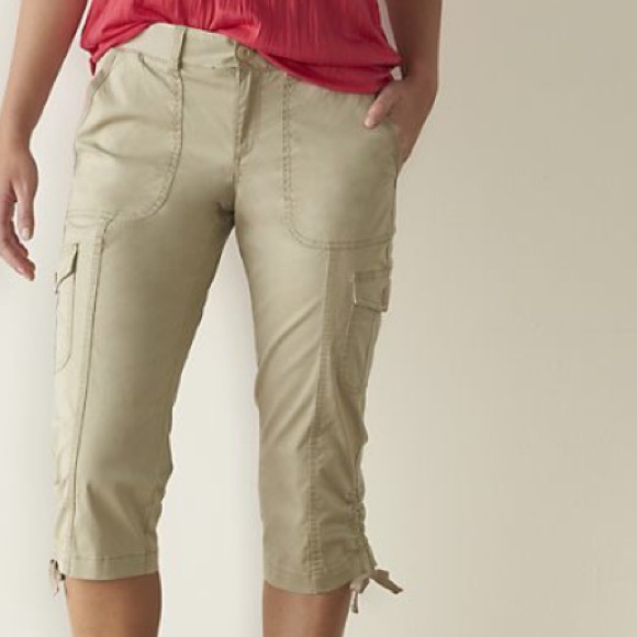 67% off Sonoma Pants - NEW Sonoma Cargo Capris from Brigette's ...
