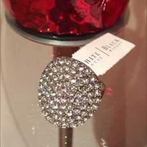 White House Black Market Jewelry - Silver round ring - White House Black Market WHBM