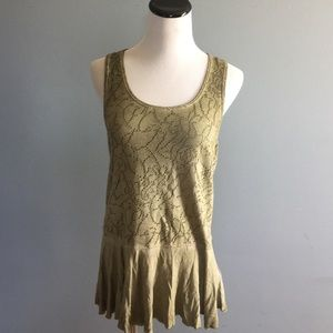 Free People washed out top