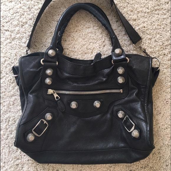 094ca703bc1 Balenciaga Handbags - Balenciaga City Bag Giant 21 Silver