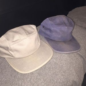 Five panel camp hats