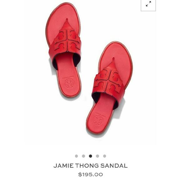 9eb9c754c165 Tory burch jamie thong sandal