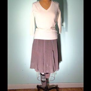 Tapemeasure Dresses & Skirts - Tapemeasure gray print gored skirt