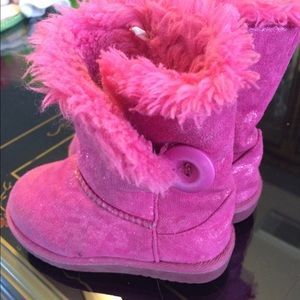 Nordstrom Baby Other - Pink winter boots