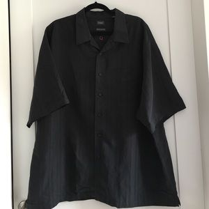 Haggar Other - Haggar Men's Black Short Sleeve Short size XXL