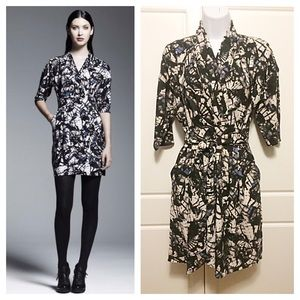 Catherine Malandrino Dresses & Skirts - Catherine Malandrino Faux Wrap Dress - HP