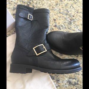 Jimmy Choo Shoes - Jimmy Choo biker boots
