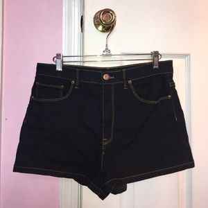 Forever 21 Pants - Forever 21 Dark Wash Jean Shorts