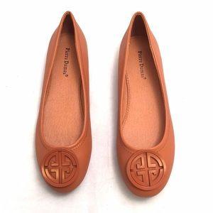 Pierre Dumas Shoes - Pierre Dumas New Tan Ballet Flats