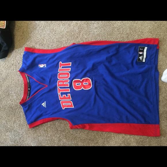 f30b63faf2be adidas Other - Adidas Ben Gordon Detroit Pistons jersey