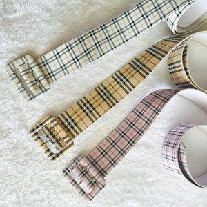 Accessories - ❤Fashion plaid belts