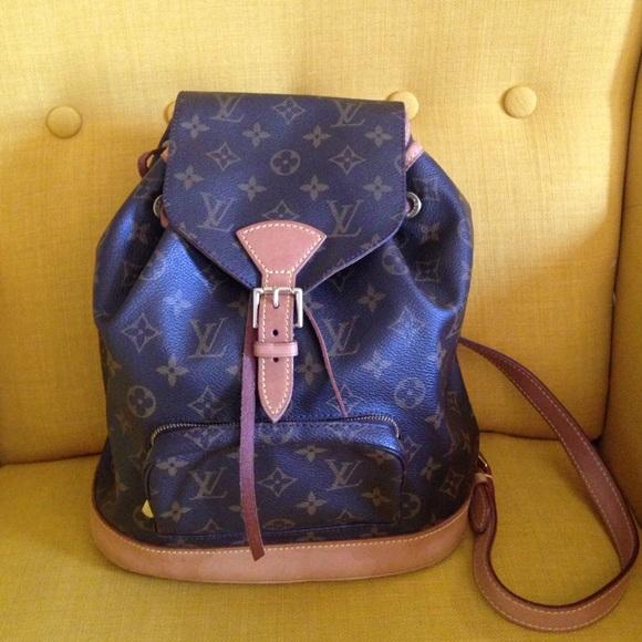 16a3007c10c7 Louis Vuitton Handbags - 🎉HP🎉AUTHENTIC LOUIS VUITTON MONTSOURIS BACKPACK