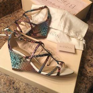 Alexandre Birman Shoes - Authentic Python Alexandre Birman heels!