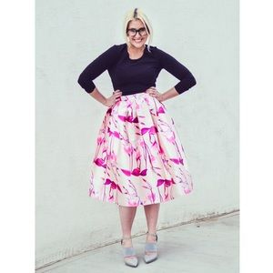 Dresses & Skirts - [Boutique]printed midi skirt