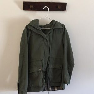 Military inspired fall/spring jacket