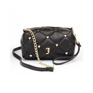 LAST‼️ JUICY COUTURE BLACK QUILTED CROSSBODY BAG