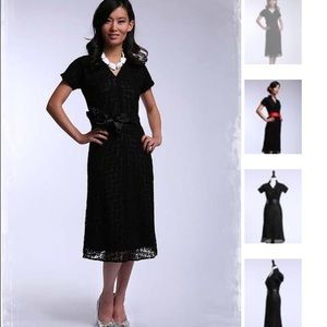 Shabby Apple  Dresses & Skirts - Shabby Apple Black Lace dress