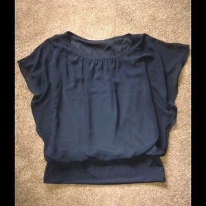 Sheer and lined fitted band  NWOT beautiful on