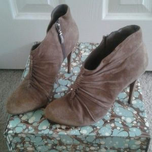 Guess Shoes - Guess Taupe Booties