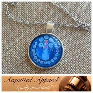 Acquitted Apparel Jewelry - Wendy Peter Pan Pendant Necklace