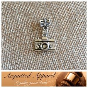 Acquitted Apparel Jewelry - Silver Camera Photographer Charm Fits Pandora
