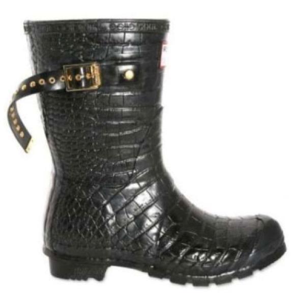 1070189d89d Hunter Shoes - Hunter   Jimmy Choo short rain boots