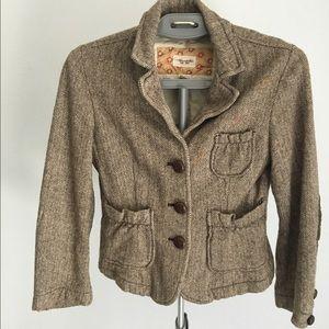 Tweed Abercrombie & Fitch Blazer