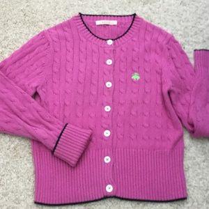 Brooks Bros. pink cardigan, XS