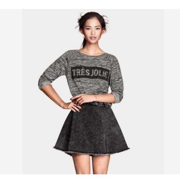 84 h m dresses skirts h m mineral wash skater