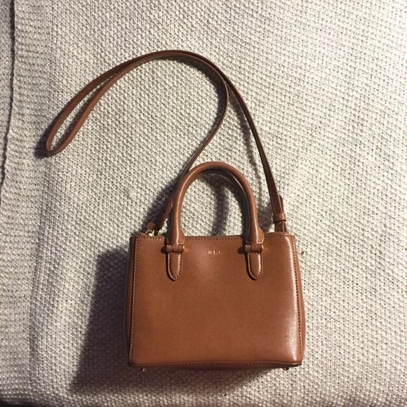 Ralph Lauren RRL Bags   Ralph Lauren Newbury Mini Leather Satchel ... 7aef3af3c7