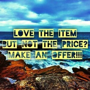 Other - Don't like my price? Make an offer!
