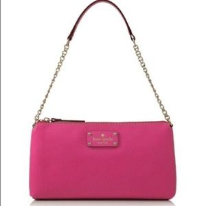 Kate Spade Wellesley Byrd Bag in Hot Pink