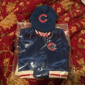 5c943e05bda American Girl Other - American Girl Doll - Chicago Cubs Jacket   Hat