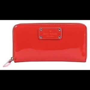 Kate Spade Wellesley Neda Wallet in Burnt Orange